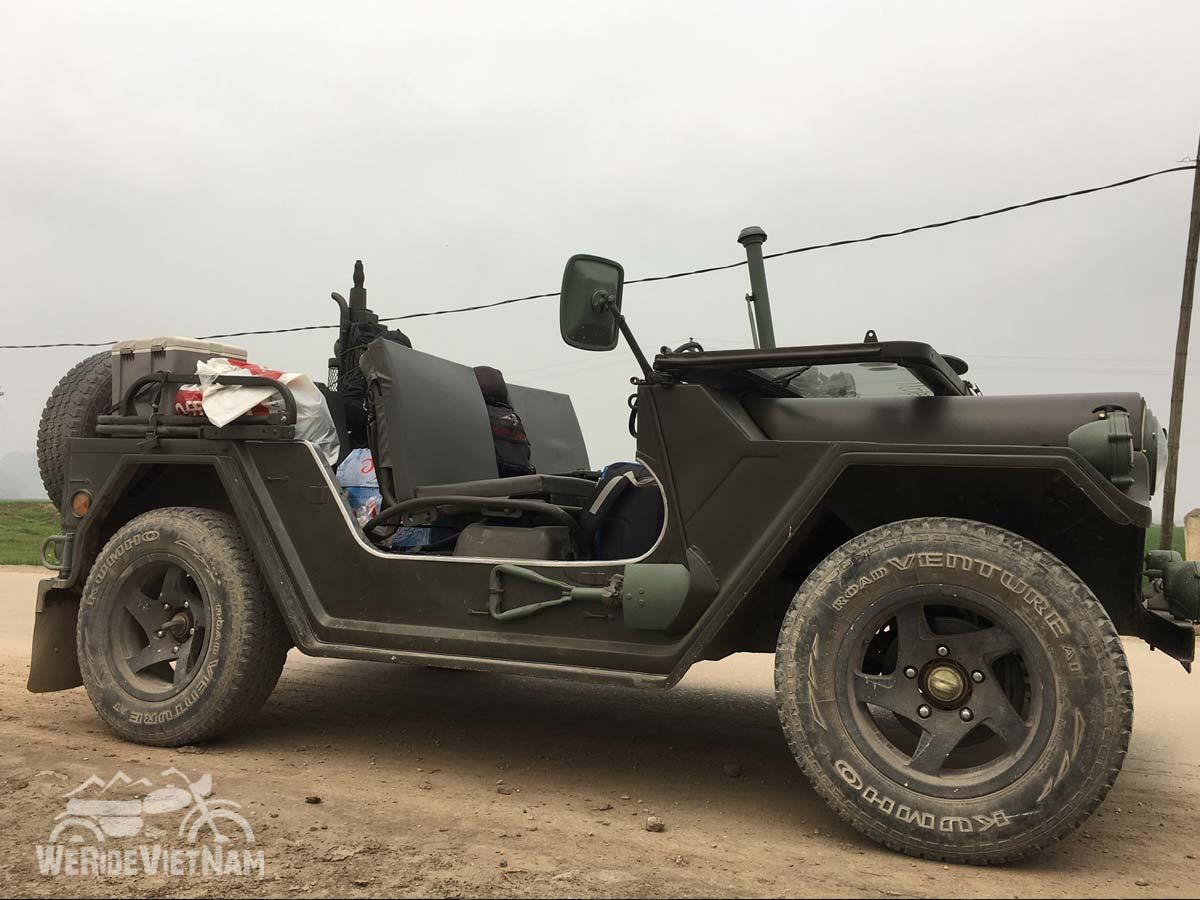 U S Army Jeeps We Ride Vietnam Motorbike Tours
